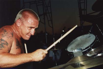 Bud Bangin On His Drums