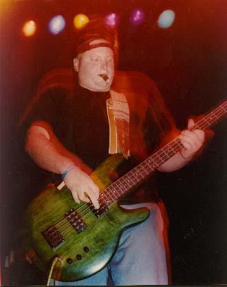 Eric playin bass