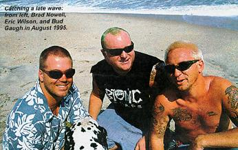 Sublime catching a late wave